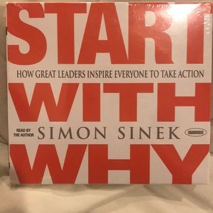 NEW! Audio book by best selling author Simon Sinek